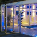 Custom glass patio doors