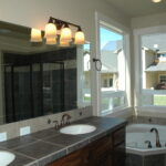 New mirror installation Kuna Idaho