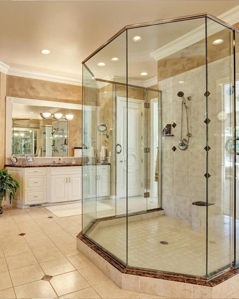 Shower door installation and repair